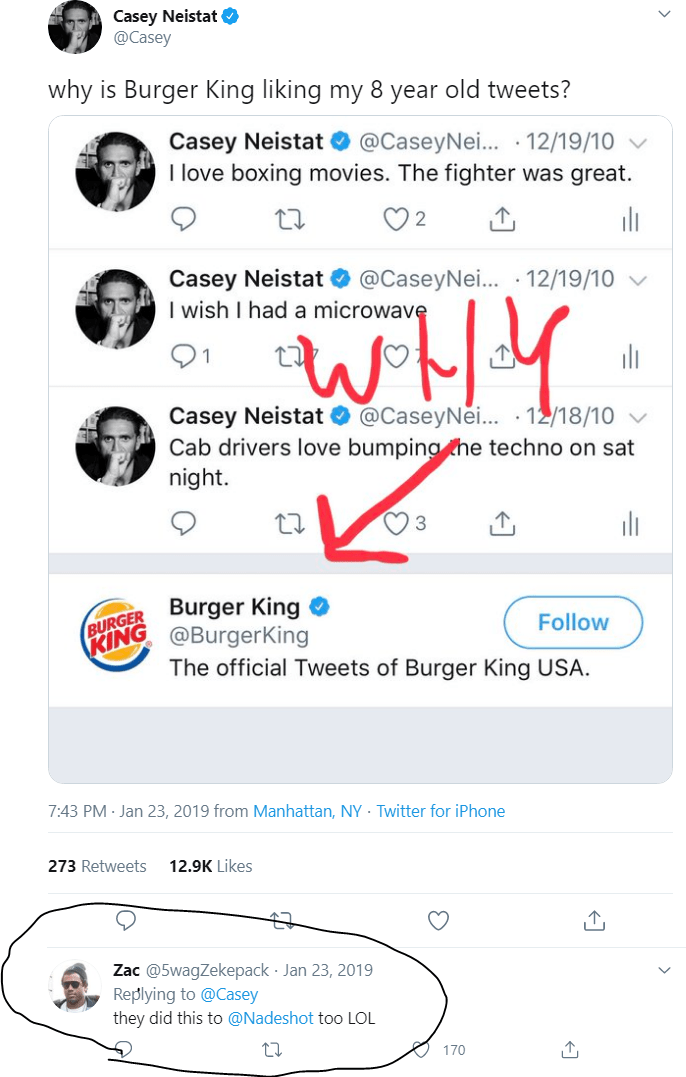 KOL Discussion about Burger King Twitter